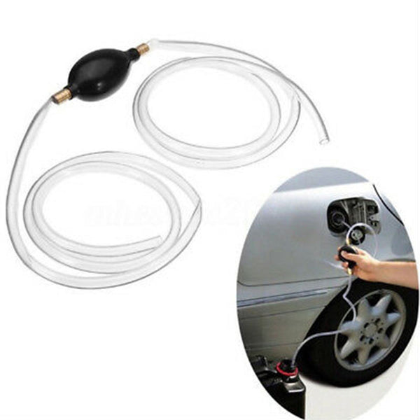 Car Liquid And Fuel Drain Siphon Hand Pump - TrendiaStore