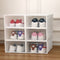 Women - Multipurpose 6 Stackable Transparent Shoe / Storage Drawers - TrendiaStore