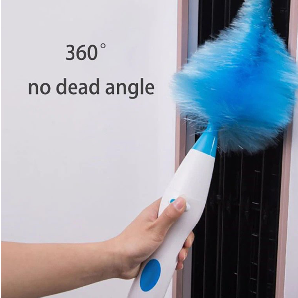 Adjustable Electric Wireless Duster Feather Cleaner - TrendiaStore