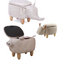 Cute Animal Shaped Storage Ottoman/Sofa - TrendiaStore