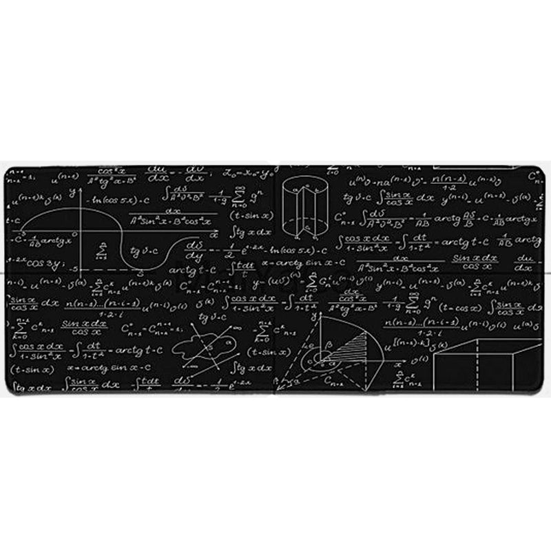 Large Geometric Formula Mouse pad Gamer Play mats - TrendiaStore