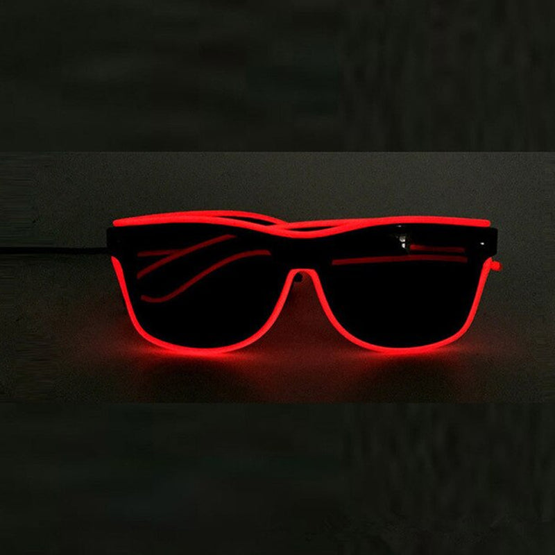 Light-Up LED Neon Party Eye Glasses - TrendiaStore