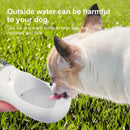 Portable Pet Water Bottle With One Click Water Dispenser