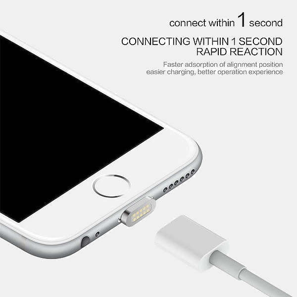 High Speed Charging Magnetic Cable with Pin For iPhone Or Android Or Type C Devices - TrendiaStore