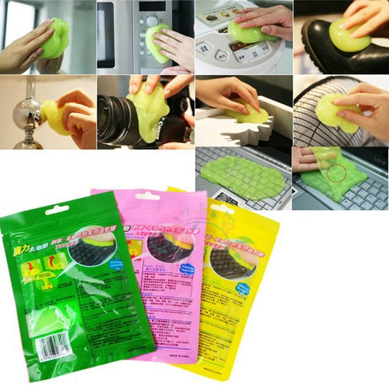 3-Pack Dirt & Dust Cleaner Slime Gel For Car, Gadgets, Household - TrendiaStore