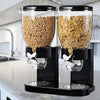 One-Click Hotel Style Cornflakes / Cereal Dispenser Jar -Double - TrendiaStore