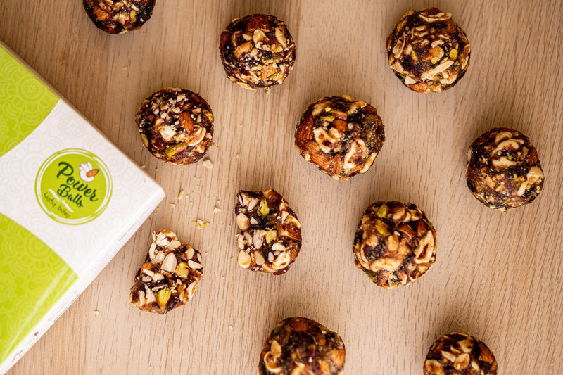 100% Vegan Tasty Power Balls
