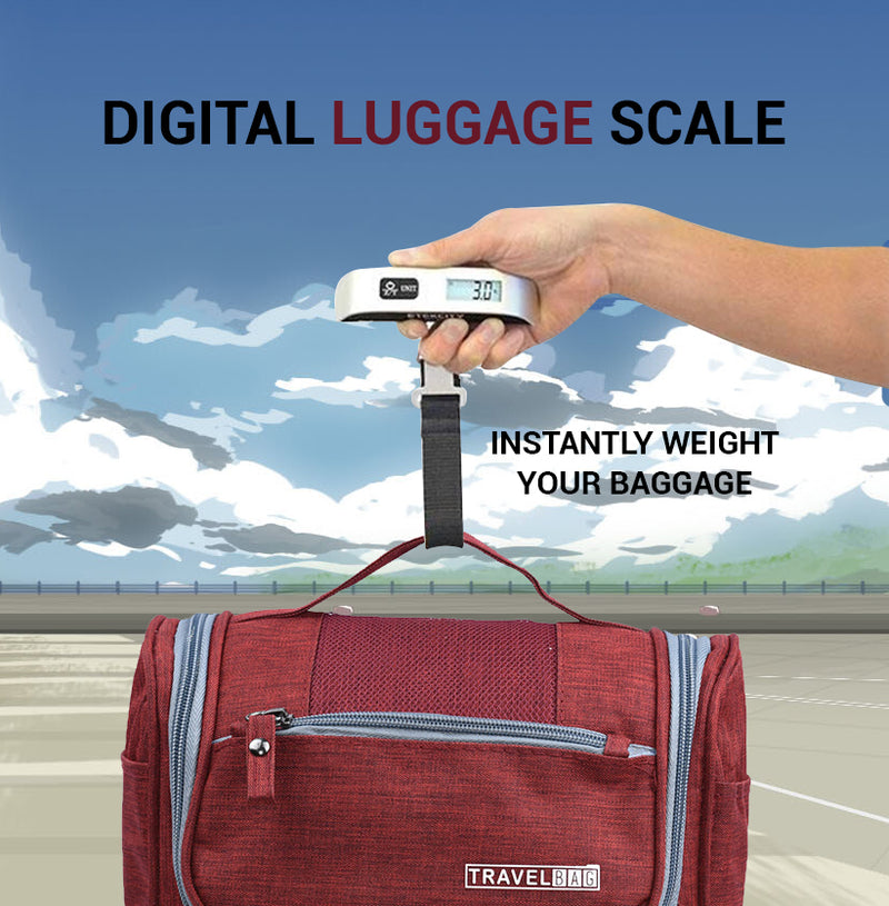 Portable Digital Luggage Weighing Scale With LCD Display - TrendiaStore