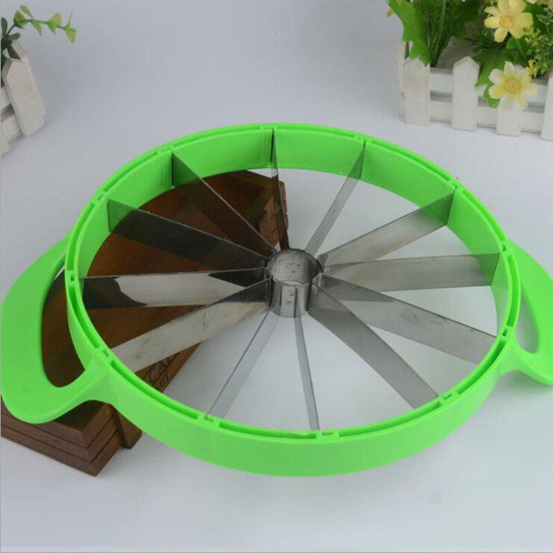 Instant 12-Slice Cutter For Watermelon, Cakes, Fruits - TrendiaStore