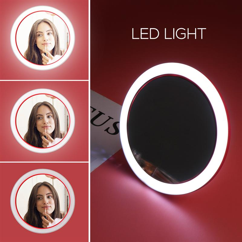 2-in-1 LED Makeup Mirror And Wireless Mobile Phone Charger - TrendiaStore