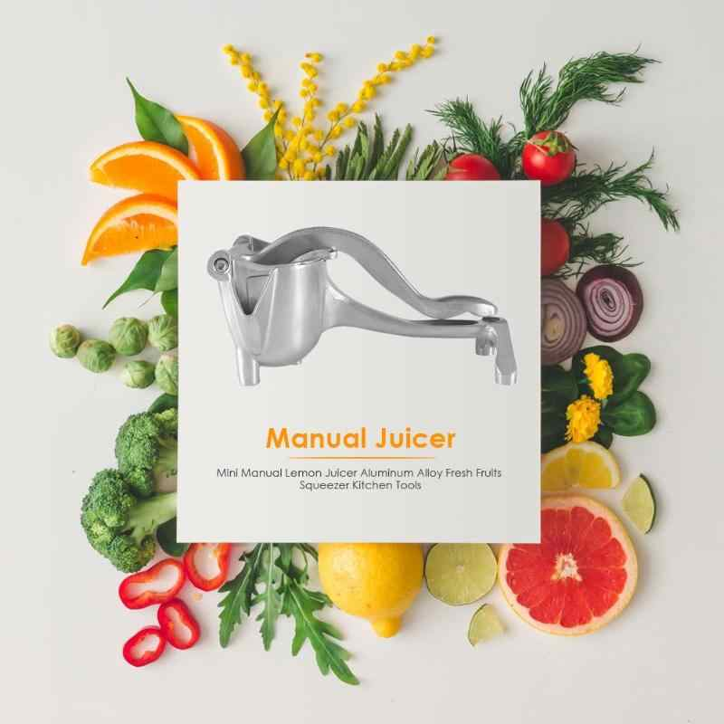 Kitchen Aluminum Alloy Lightweight Manual Juicer