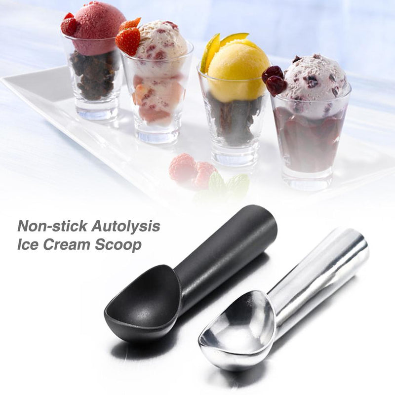 """ICE CREAM YOU SCREAM"" Non Stick Autolysis Ice Cream Scooper 2 Pack - TrendiaStore"