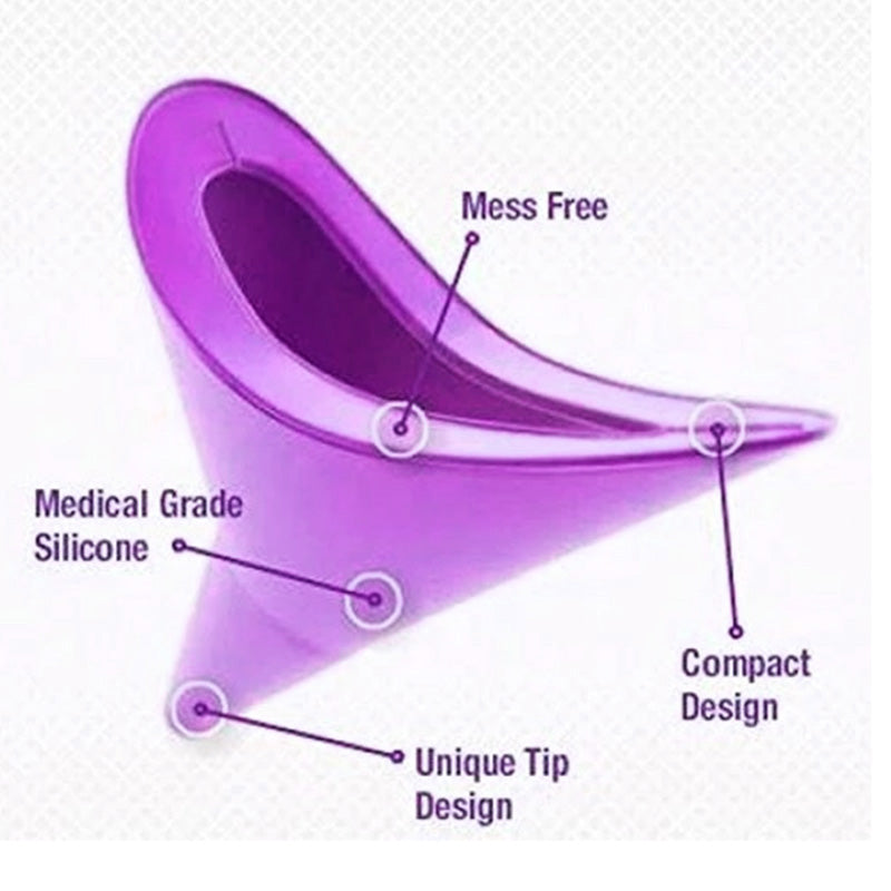 Reusable Female Standing-Up Urination Funnel - TrendiaStore