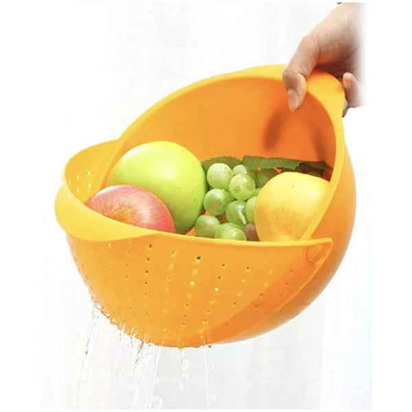 2-in 1 Wash and Strain Bowl Colander - TrendiaStore