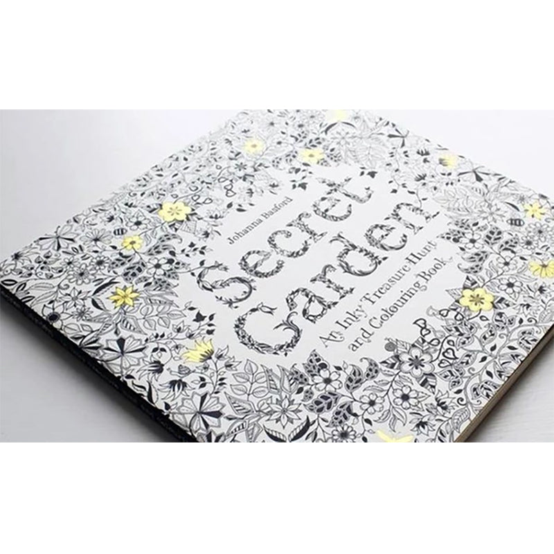 Adult Coloring Book De-stressing Activity Doodle Art - TrendiaStore
