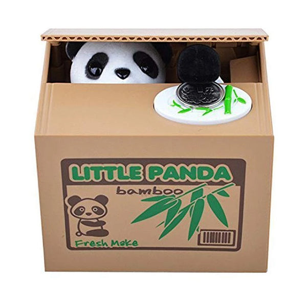 Super Cute Animated Panda Save-A-Coin Bank - TrendiaStore