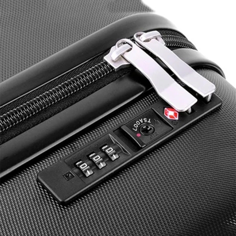 Carry on Suitcase with Weighing Scale, External Laptop Leap and a TSA Lock - TrendiaStore