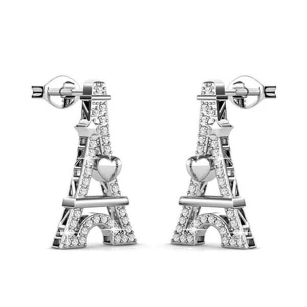 Parisian 'Eiffel' Earrings-Necklace Set - TrendiaStore