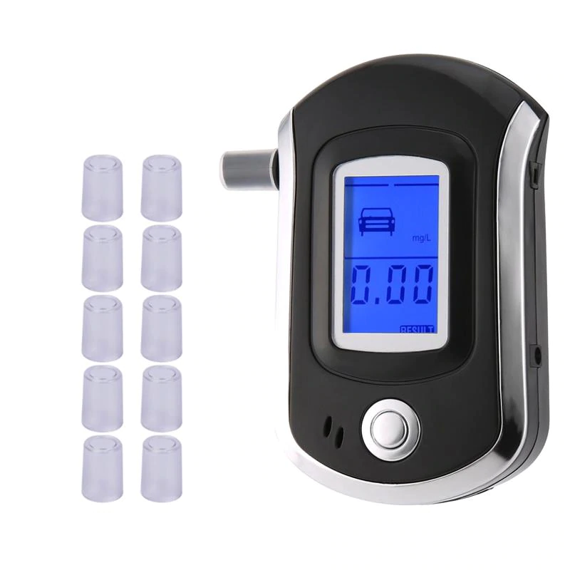 Pocket Size Self Test Digital Alcohol Breath Tester - TrendiaStore