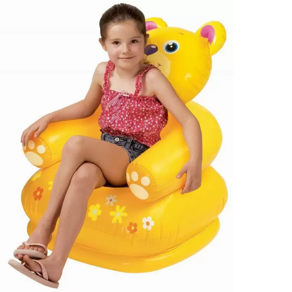 Kids Inflatable Chair - Bear Shaped - TrendiaStore