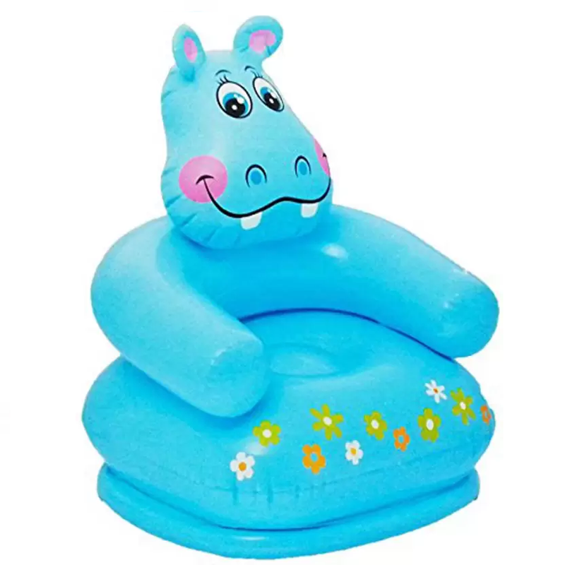 Kids Inflatable Chair and Bounce-Back Toy Combo - TrendiaStore