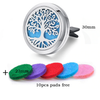 30mm Essential Oil Car Diffuser Vent Clip Locket - TrendiaStore