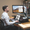 Adjustable Ergonomic Portable Desktop And Laptop Desk With Standing Option - TrendiaStore