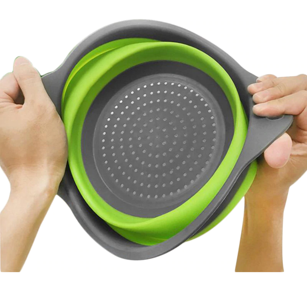 3-in-1 Collapsible Strainer, Salad Bowl And Multipurpose Holder - TrendiaStore