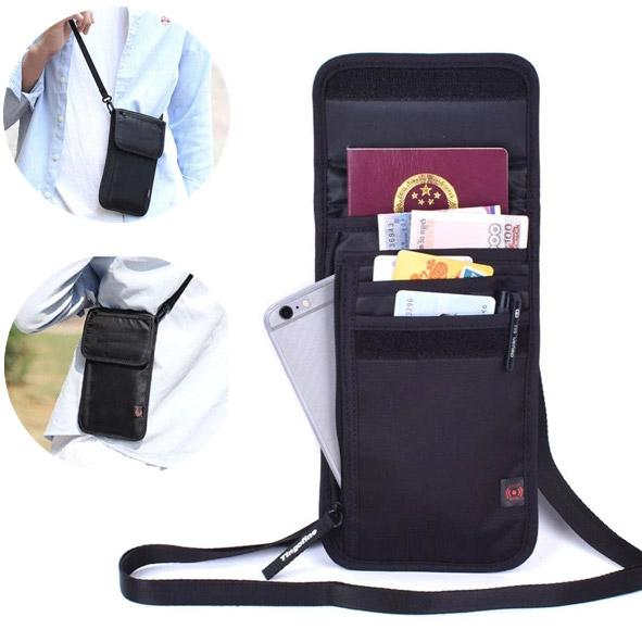 Travel Documents Passport Bag And Mobile Pouch with RFID Tech - TrendiaStore
