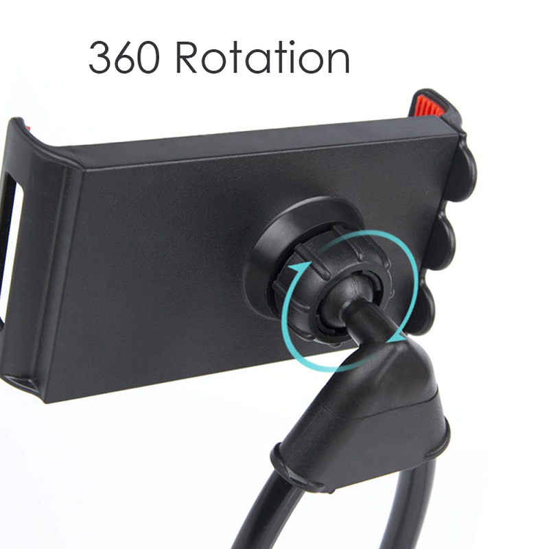 360° Rotating Handsfree Lazy Neck Mobile Holder /  Selfie Stick - TrendiaStore