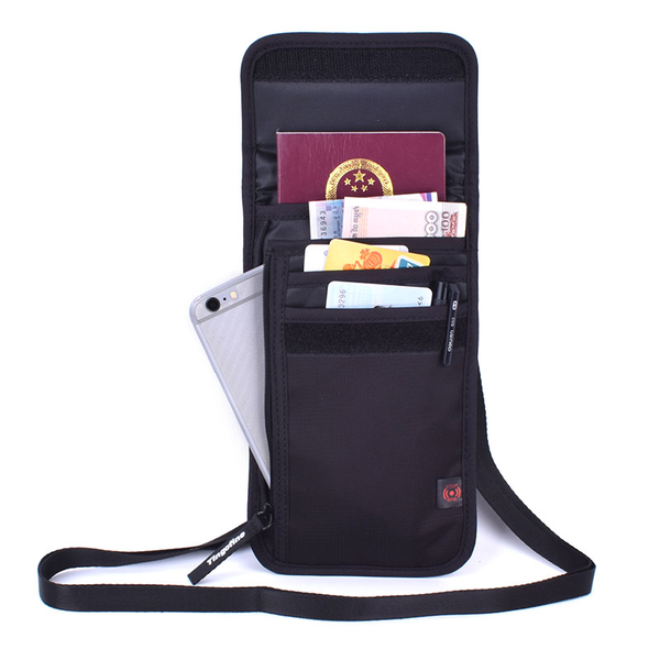 TRAVEL NECK PASSPORT HOLDER - TrendiaStore