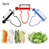 Set of 3 Kitchen Peelers - TrendiaStore