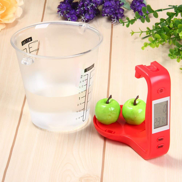 Digital LCD Kitchen Measuring Scale With Detachable Jug - TrendiaStore
