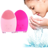 Mini Electric Silicone Facial Cleaning Massager Brush - TrendiaStore
