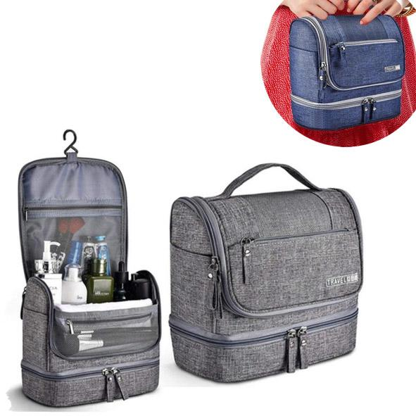 Waterproof Hanging Travel Toiletries Kit | Travel Toiletries Storage Organizer - TrendiaStore