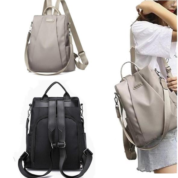 Anti-Theft Waterproof Travel Backpack Cum Handbag - TrendiaStore