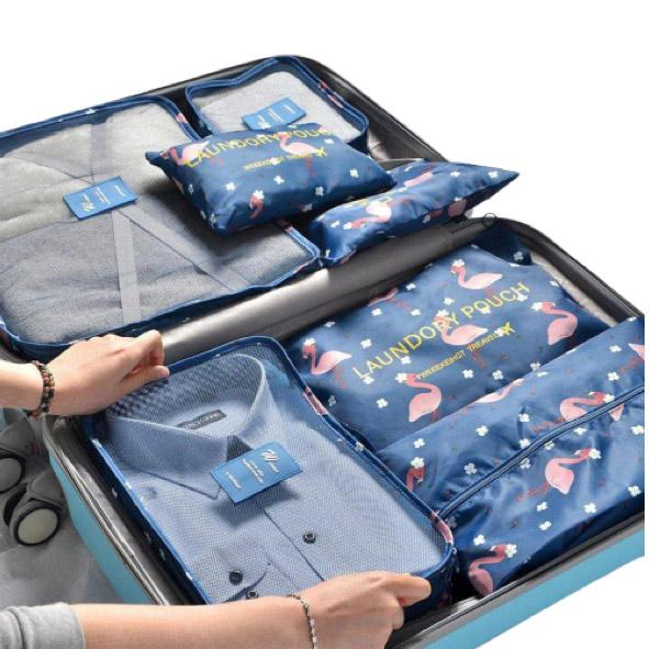Suitcase/Luggage Organisers Packing Cubes (Pack of 7) - TrendiaStore