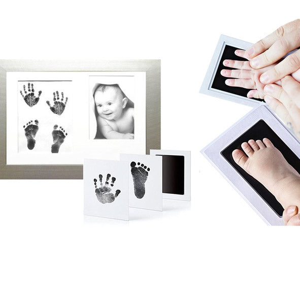 Chemical-Free Baby Hand And Footprint Stamping Kit - TrendiaStore
