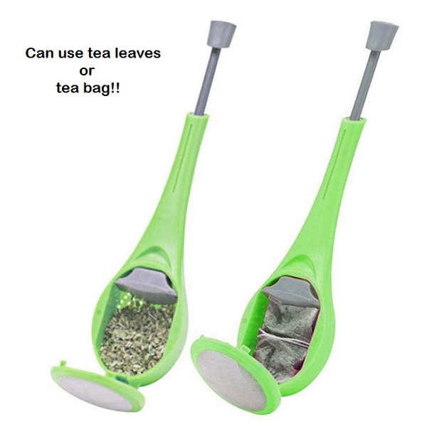 Reusable Tea Infuser Plunger - TrendiaStore