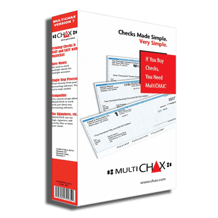 Check Printing Software (Limited Time Offer) - [product_type] - CHAX SOFTWARE INC