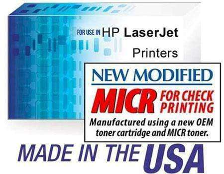 HP CE255X (55X) LASERJET P3015 PREMIUM MICR TONER CARTRIDGE BLACK - NEW OEM - Toner - CHAX SOFTWARE INC