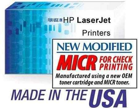 TROY P3015 SERIES / HP CE255X (55X) LASERJET P3015 HIGH YIELD PREMIUM MICR TONER CARTRIDGE BLACK - NEW OEM