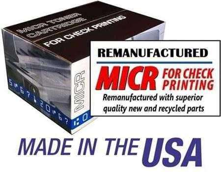 TROY P3015 / HP CE255X (55X) LASERJET P3015 HIGH YIELD MICR TONER CARTRIDGE BLACK - REMANUFACTURED - Toner - CHAX SOFTWARE INC