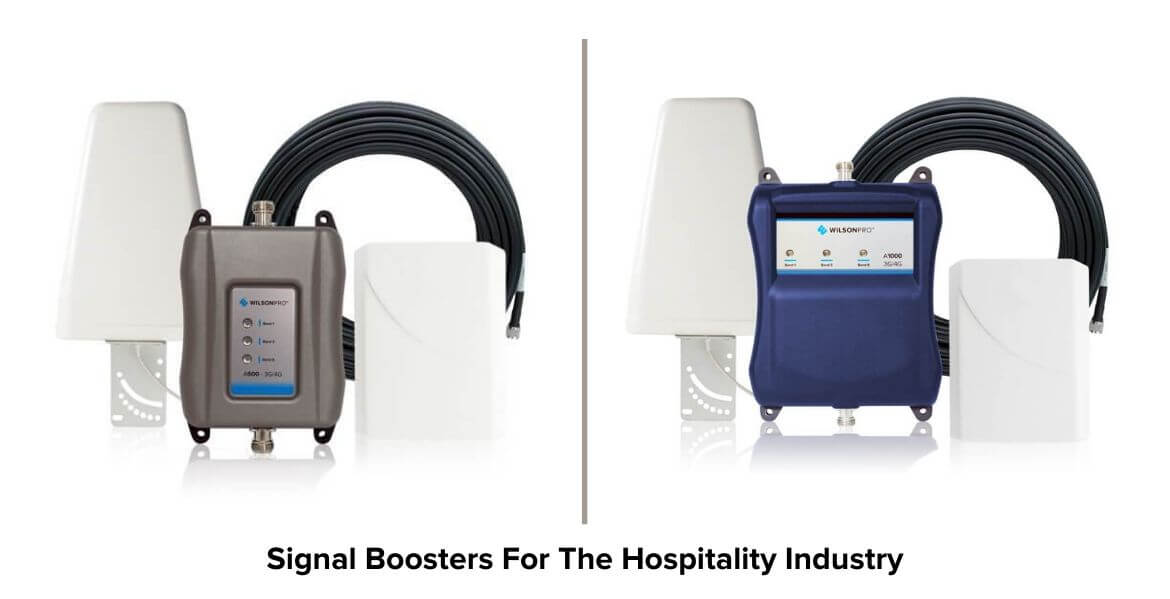 Signal Boosters for Hospitality