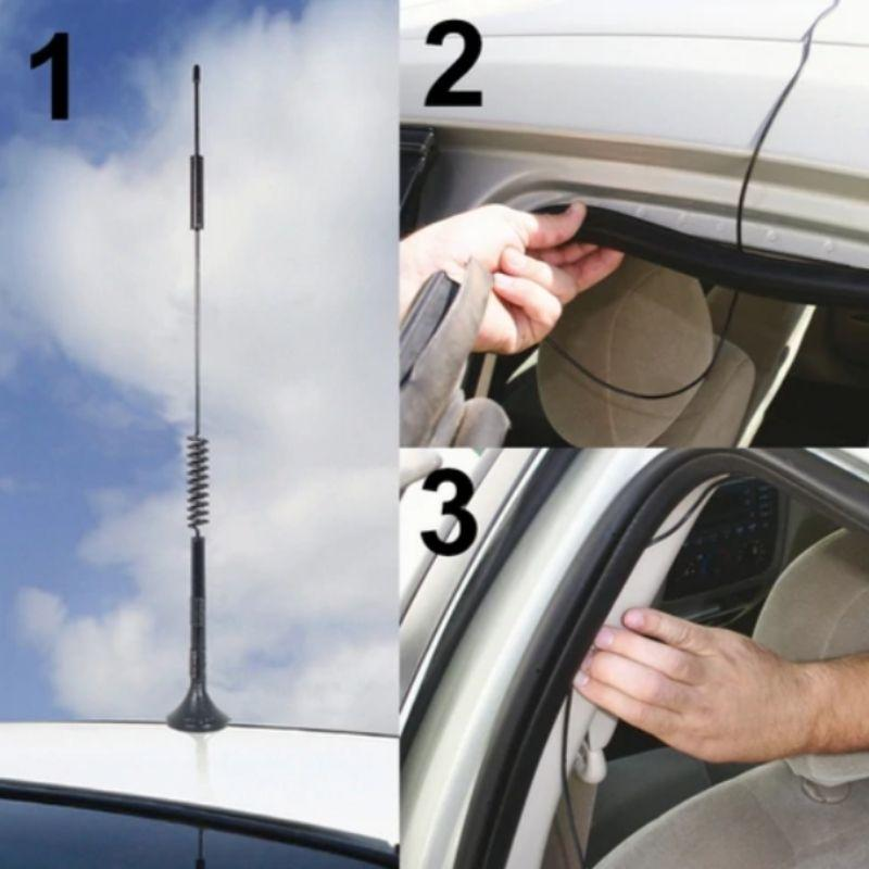 30cm Magnet Mount Vehicle Antenna