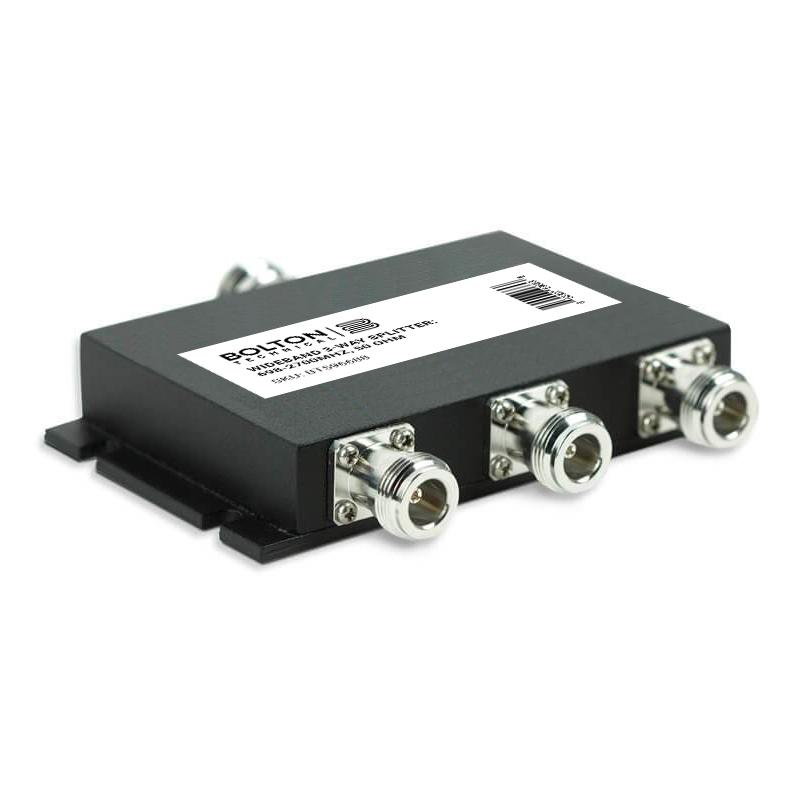 Wideband 3-Way Splitter for 698-2700Mhz, 50 Ohm (Wilkinson Style)