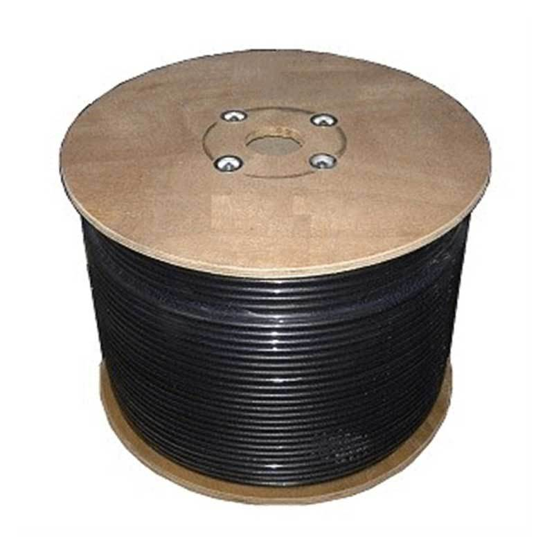 Bolton600 Ultra Low-Loss BLACK Cable | 152 meter spool