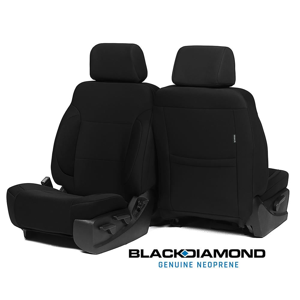 Black Diamond™ Neoprene Seat Covers - Jeep Wrangler