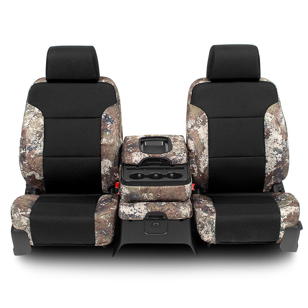 TRUETIMBER® 1000D Canvas Seat Covers - Chevy & GMC 1500