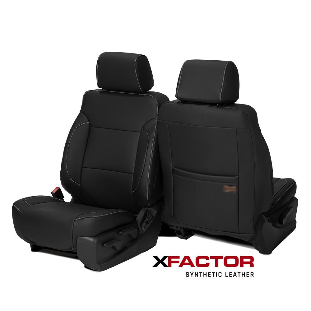 X-Factor Synthetic Leather Seat Covers  - Chevy & GMC 1500